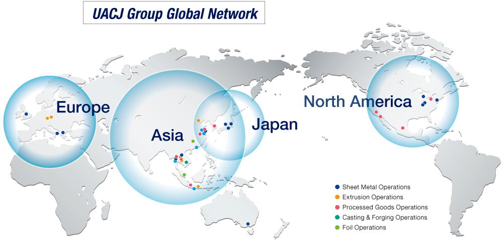 UACJ Group Global Network
