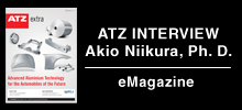 ATZ INTERVIEW Akio Niikura, Ph. D.